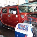 さて、この車は何でしょう?高座郡寒川町からお越しのビッグモンスター!!